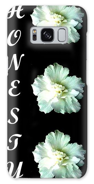 Honesty Inspirational Art Collection By Saribelle Rodriguez Galaxy Case by Saribelle Rodriguez