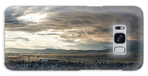 Honey Lake Valley Sunrise Galaxy Case