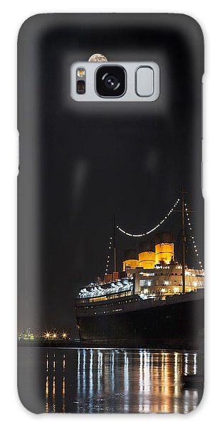 Honey Moon Reflects With The Queen By Denise Dube Galaxy Case