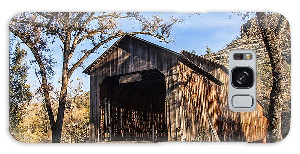 Honey Run Covered Bridge 1894 Galaxy Case