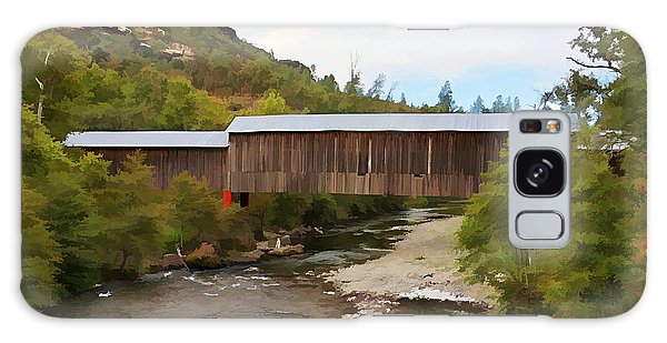 Honey Run Covered Bridge Galaxy Case