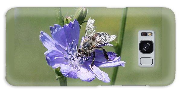 honeybee on Chickory Galaxy Case