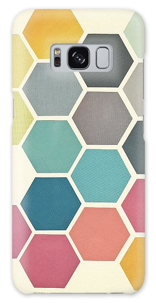 Galaxy Case - Honeycomb II by Cassia Beck