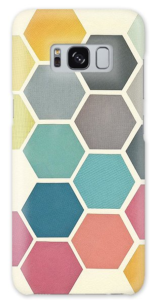 Vintage Galaxy Case - Honeycomb II by Cassia Beck