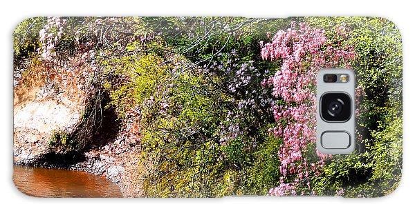 Honeysuckle On Buckatunna Creek Galaxy Case by Lanita Williams