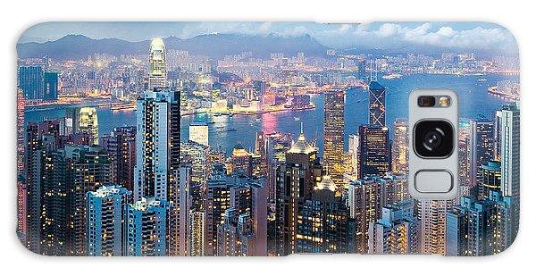 Hong Kong At Dusk Galaxy Case