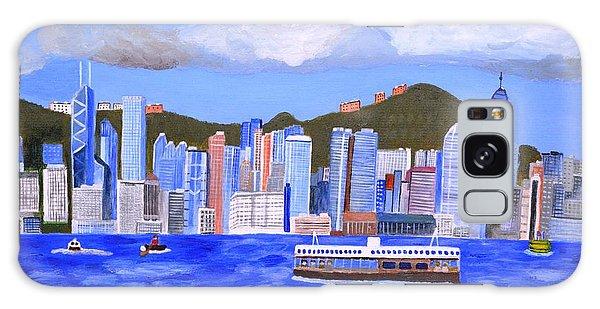Hong Kong Galaxy Case by Magdalena Frohnsdorff
