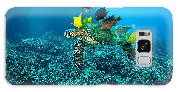 Honu Cleaning Station Galaxy Case