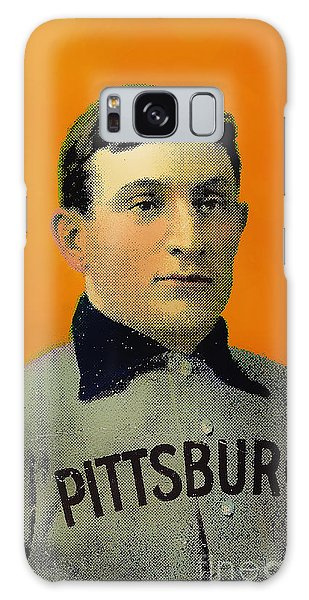 Honus Wagner Baseball Card 0838 Galaxy Case