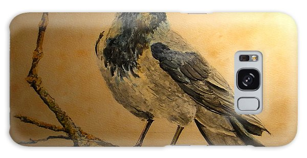 Hooded Crow Galaxy Case