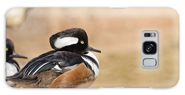 Hooded Merganser Galaxy Case