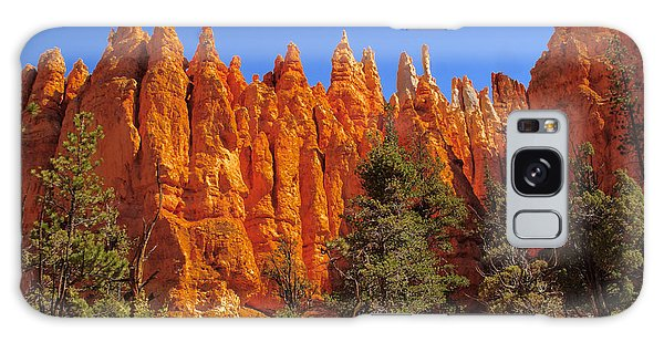 Hoodoos Along The Trail Galaxy Case