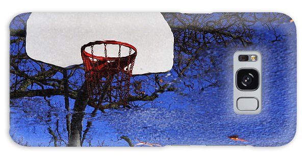 Hoop Dreams Galaxy Case by Jason Politte