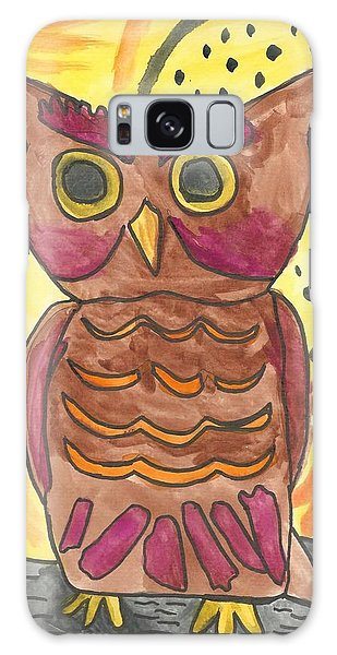 Hoot Galaxy Case by Artists With Autism Inc