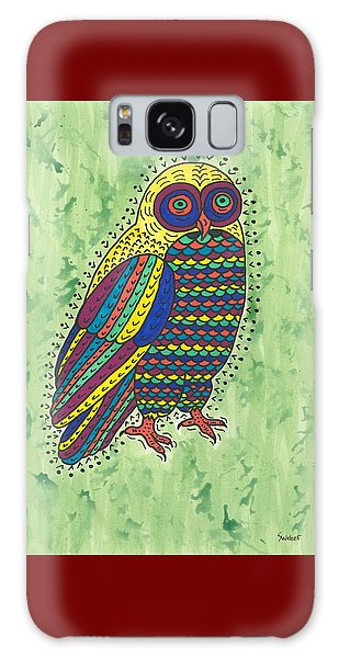 Hoot Owl Galaxy Case by Susie Weber