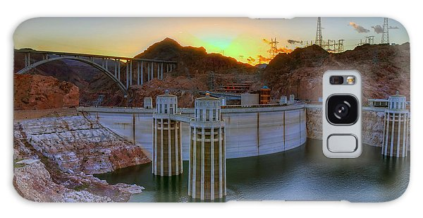 Hoover Dam At Sunset Galaxy Case