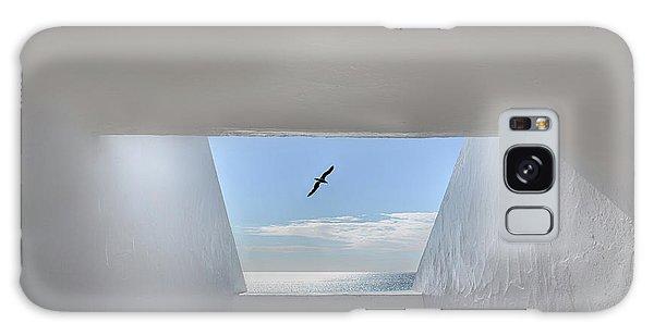 Seagulls Galaxy Case - Hope by Anita Palceska