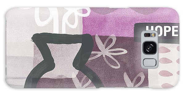 Orchid Galaxy Case - Hope- Contemporary Art by Linda Woods
