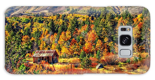 Hope Valley Fall Color Galaxy Case