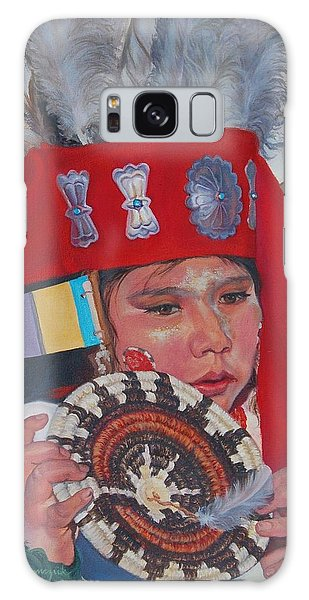 Hopi Basket Dancer Galaxy Case