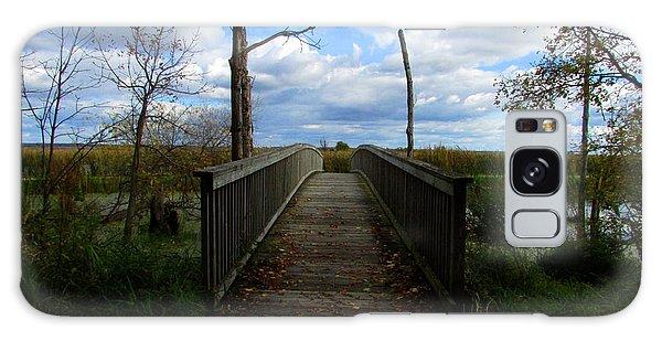 Horicon Bridge In Autumn Galaxy Case