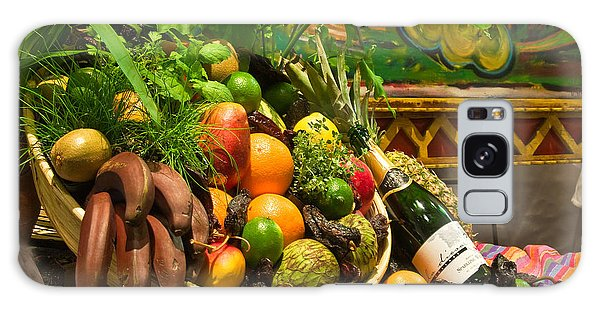 Galaxy Case featuring the photograph Fruit And Wine 1 by Mae Wertz
