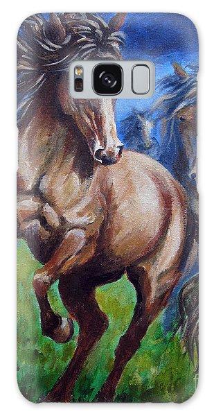 Horse 4 Galaxy Case