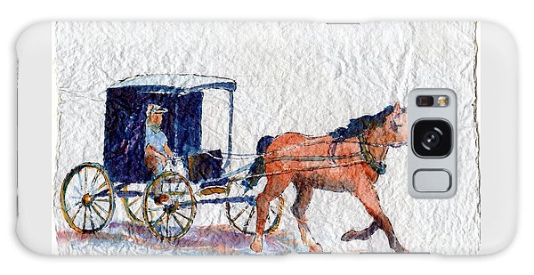 Horse And Buggy Galaxy Case