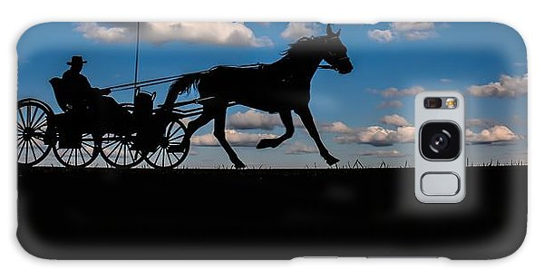 Horse And Buggy Mennonite Galaxy Case