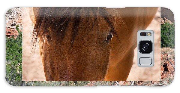 Horse And Canyon Galaxy Case