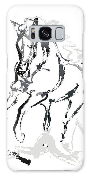 Horse- Andalusian Angel Galaxy Case