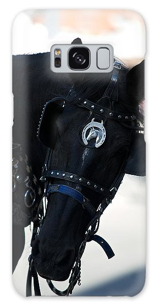 Horse Galaxy Case by Andre Faubert