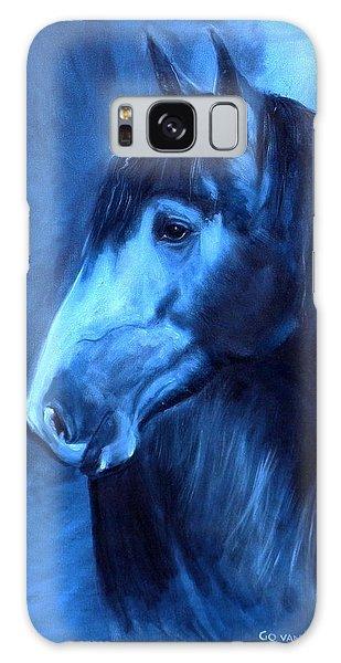 Horse - Carol In Indigo Galaxy Case