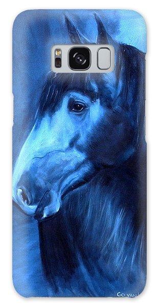 Horse - Carol In Indigo Galaxy Case by Go Van Kampen