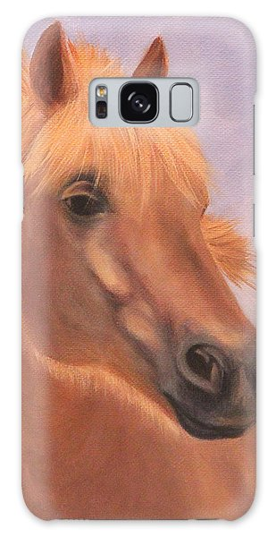 Horse Close-up Galaxy Case
