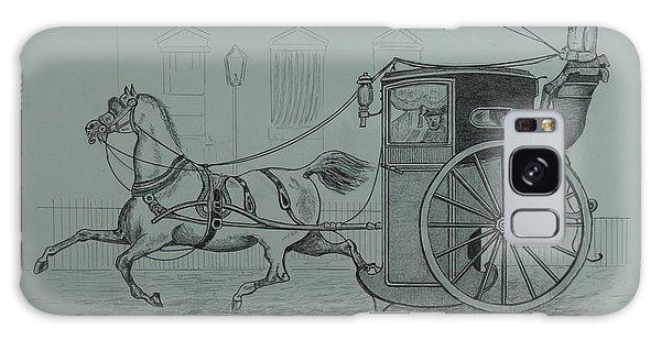Horse Drawn Cab 1846 Galaxy Case