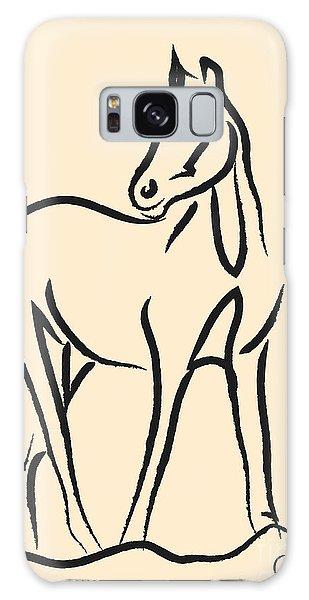 Horse - Grace Galaxy Case by Go Van Kampen