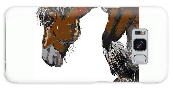 horse - Guus Galaxy Case by Go Van Kampen