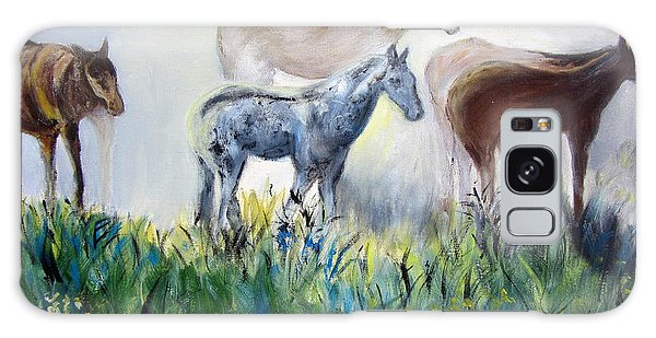 Horses In The Fog Galaxy Case