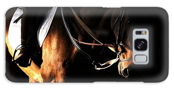 Horse In The Shade Galaxy Case