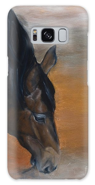 horse - Lily Galaxy Case by Go Van Kampen