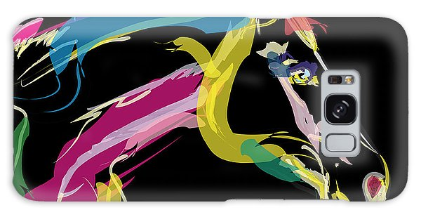 Horse- Lovely Colours Galaxy Case