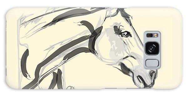 Horse - Lovely Galaxy Case by Go Van Kampen