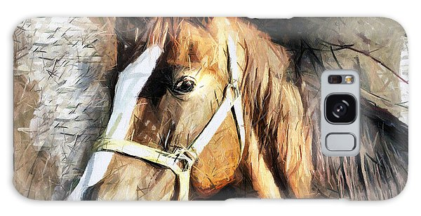 Horse Portrait - Drawing Galaxy Case