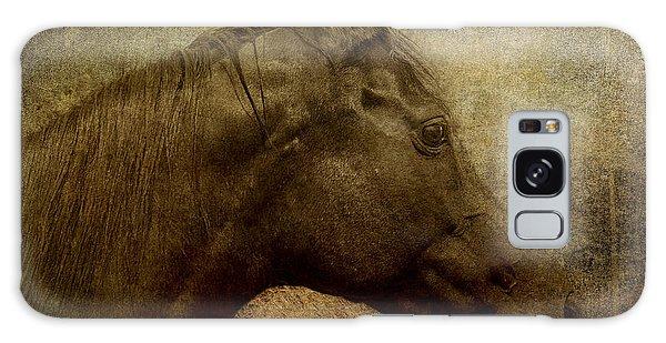 Horse Portriat Galaxy Case