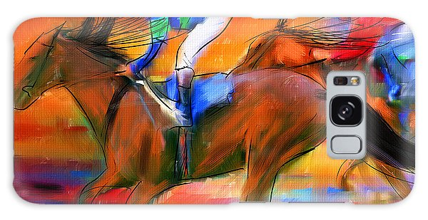 Horse Racing II Galaxy Case