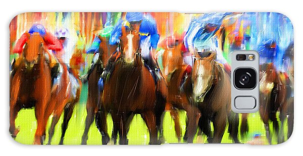 Horse Racing Galaxy Case