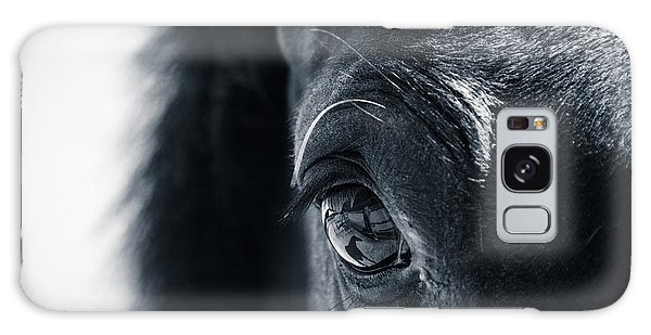 Horse Reflection Galaxy Case by Michele Wright