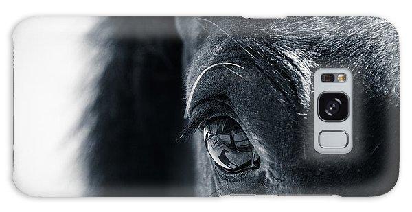 Horse Reflection Galaxy Case