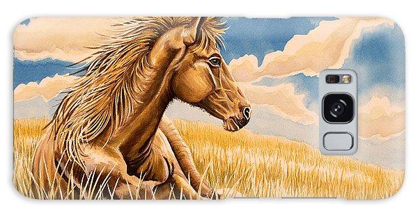 Horse Resting Galaxy Case by Tish Wynne
